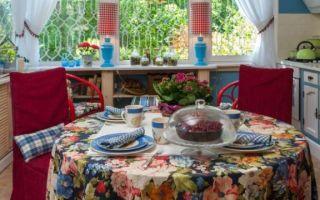 Кухни на даче – дизайн, фото, планировка и оформление интерьера своими руками