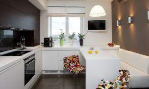 Дизайн кухни в панельном доме: оригинальные идеи для типовой планировки