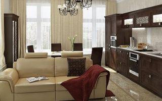 Дизайн кухни 17 кв. м: интерьер и планировка кухни-гостиной