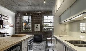 Кухни в стиле лофт: разработка дизайна и примеры интерьеров с фото