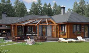 Проект летней кухни с баней: варианты проектов и оформления дизайна интерьера с фото