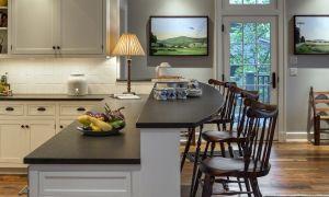 Высота барной стойки на кухне – стандарт барной мебели и размеры стульев