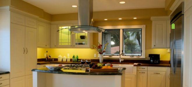 Островные вытяжки для кухни – разновидности, особенности, фото