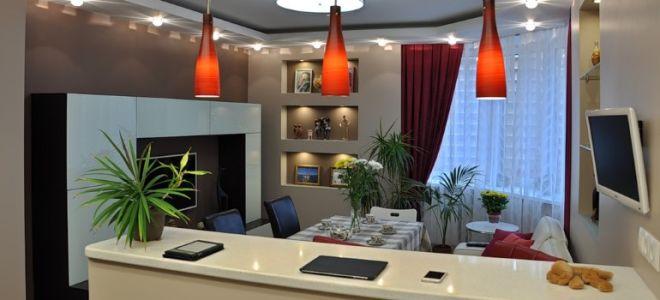 Подвесные светильники для барной стойки: варианты освещения бара на кухне