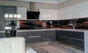 Акриловые фасады, пленка и панели для кухни: особенности, достоинства и недостатки