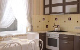 Дизайн кухни в хрущевке: фото интерьеров и варианты оформления маленькой кухни