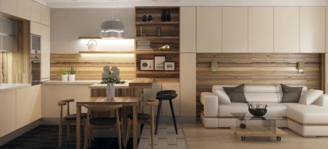 Кухня-гостиная 20 кв. м: современный дизайн, фото интерьеров, варианты планировки студии