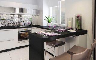 Кухни с барной стойкой – тонкости дизайна и фото интерьеров