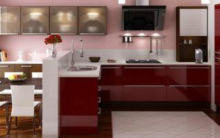 Акриловые кухни: плюсы и минусы, свойства материала и стилистические решения
