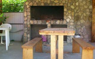 Летние кухни: фото удачных вариантов оформления, советы по строительству и отделке