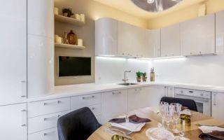 Кухни из шпона: фото, особенности, шпонированные кухни и МДФ – что лучше