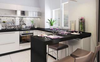 Угловые кухни с барной стойкой: особенности и варианты дизайна с фото