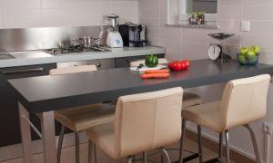 Барные столы для кухни: плюсы и минусы барной стойки в кухонном интерьере