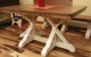 Как отреставрировать старый стол своими руками: выбираем лучший способ