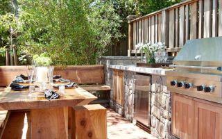 Открытая летняя кухня – лучшие проекты уличных кухонь с фото