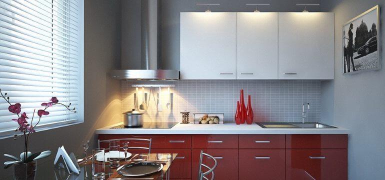 Дизайн кухни площадью 4 кв. метра