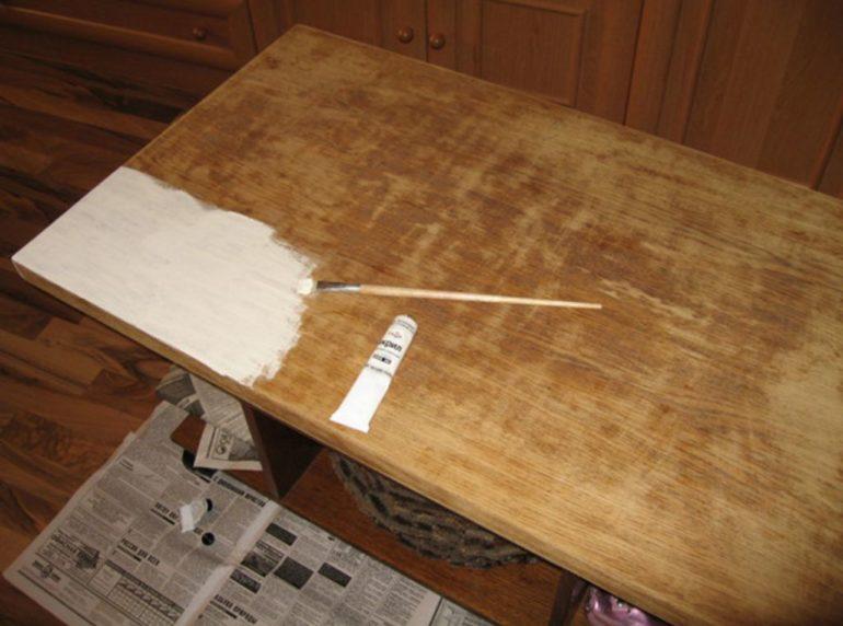 Шпаклевка и окраска поверхности