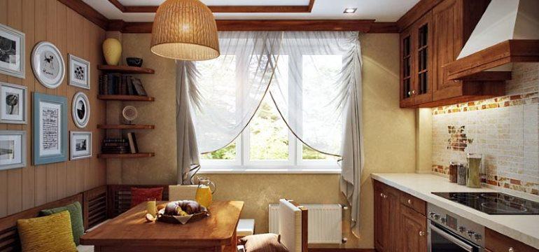 Дизайн кухни площадью 11 метров