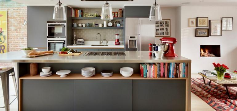 Дизайн кухни площадью 15 квадратных метров