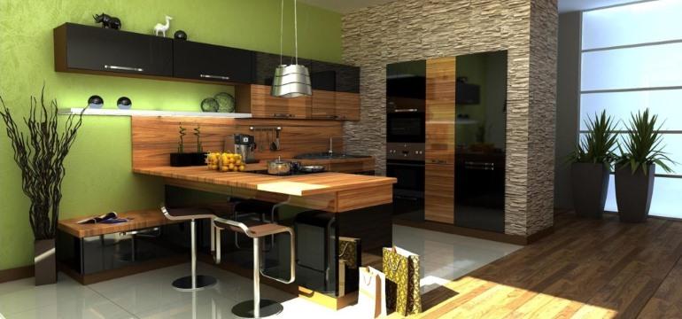 Дизайн и стиль современной кухни