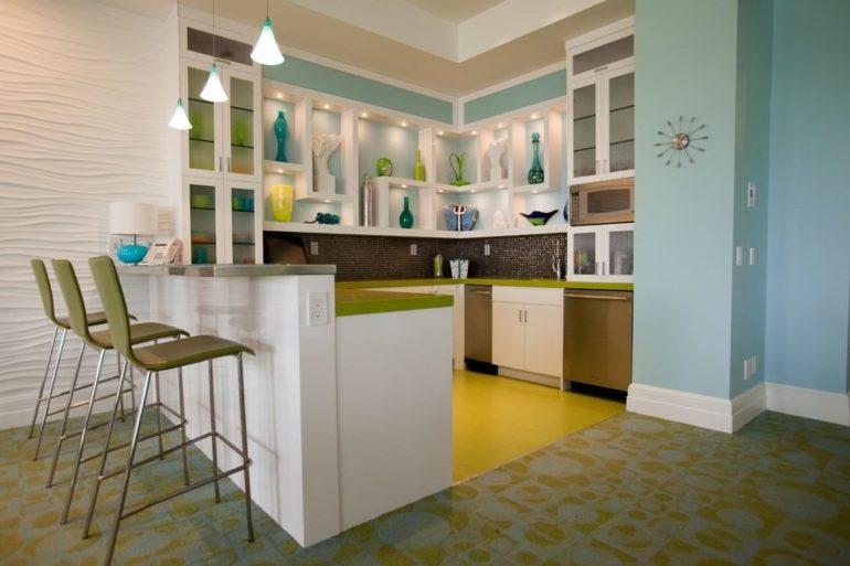 Яркие настенные декорации легко вдохнут хорошее настроение для вашей кухни