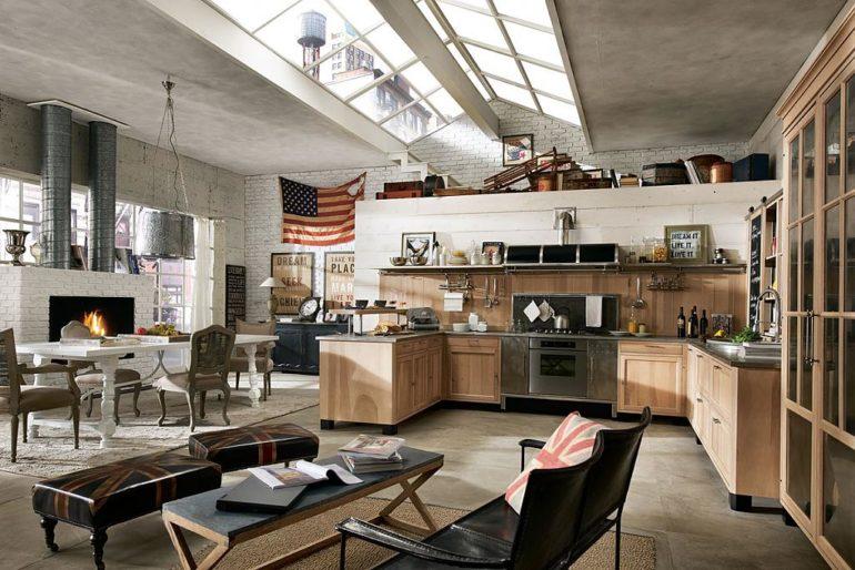 Ключевой принцип современного дизайна кухни – полная свобода оттенков и материалов