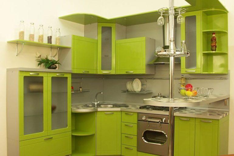 Зелёный цвет может смотреться слишком навязчиво, но только не его нежно-оливковый оттенок