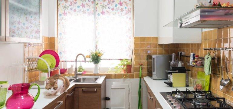 Дизайн кухни 3 на 3 метра