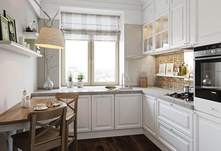 Даже небольшое помещение можно превратить в удобную кухню – было бы желание, а наши советы помогут вам всё сделать