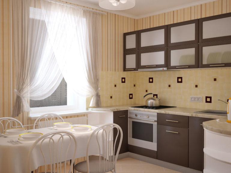 Помещения площадью в 12 кв. метров более чем достаточно, чтобы обустроить все основные зоны и сделать кухню такой, какой хочется