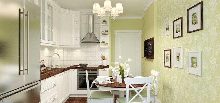 Кухни 8 кв. метров – дизайн и планировка