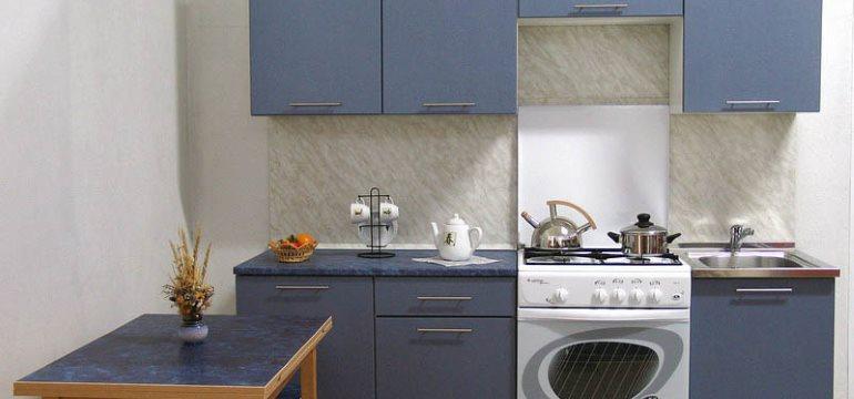 Кухня в брежневке: оформление и планировка