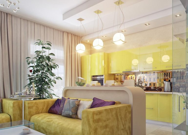 Правильное освещение может многое: создать уютную обеденную зону, выделить рабочее пространство и даже визуально расширить площадь кухни