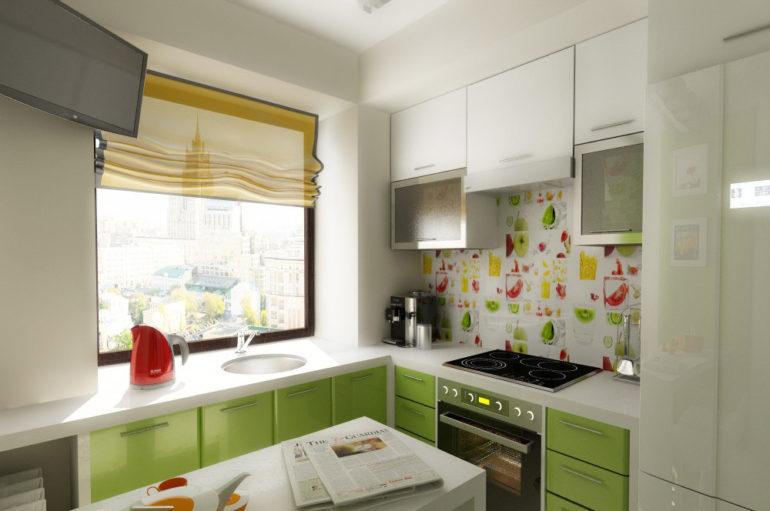Обустраиваем маленькую кухню современно, органично и комфортно