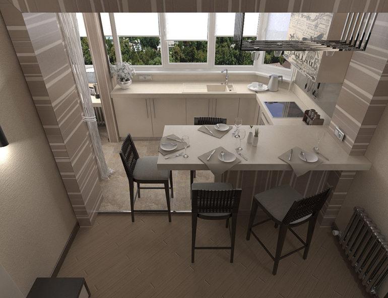 """Если вы задумали перестроить кухню и балкон, не нужно сразу брать кувалду и ломать перегородку: сначала взвесьте все """"за"""" и """"против"""""""