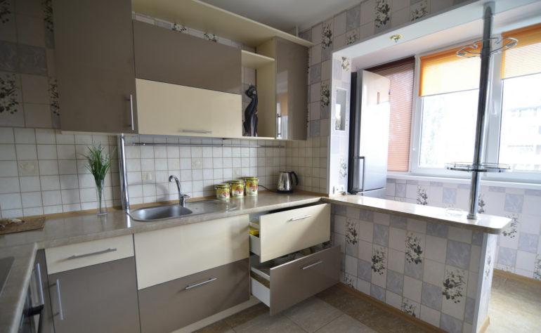 Кухня на балконе или лоджии: фото, дизайн, как сделать.