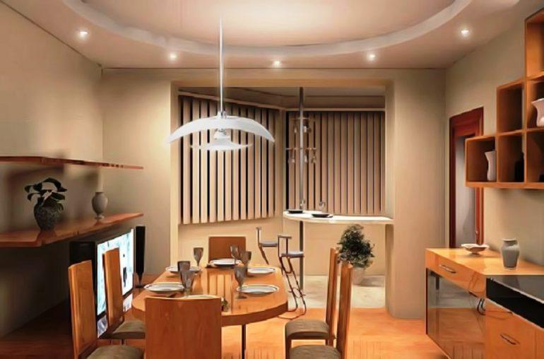 Объединение кухни с балконом – отличная возможность оптимизации пространства