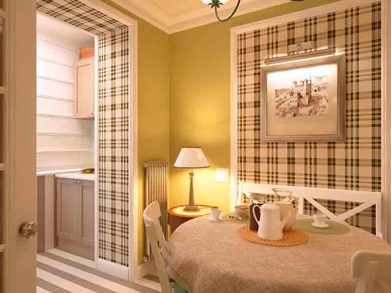 Наилучшим вариантом оформления кухни будет выдерживание интерьера помещения в единой цветовой гамме