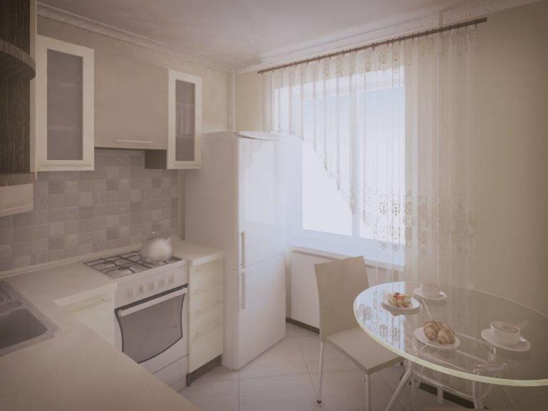 Светлые оттенки расширят пространство, придадут легкость кухонному гарнитуру и скроют недостатки архитектуры