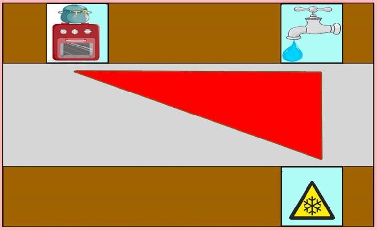 При двухрядной параллельной планировке вдоль одной стены располагаются зона готовки и моечная, а вдоль другой – зона хранения
