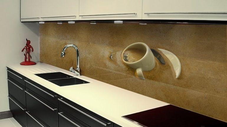 Стеклянный фартук – стильная, современная и яркая альтернатива классическим кафельным покрытиям