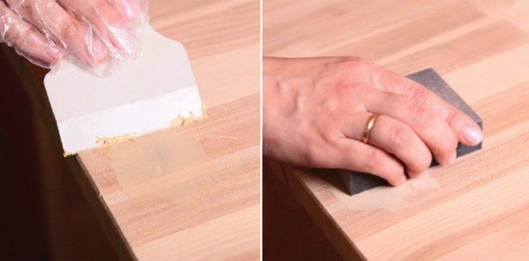 Шпаклевка и шлифовка поверхности