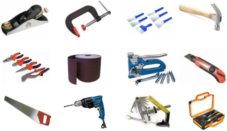 Инструменты для реставрации