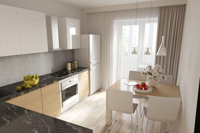 Кухонные шторы являются неотъемлемой частью дизайна помещения, призванного создавать ощущения уюта и теплоты