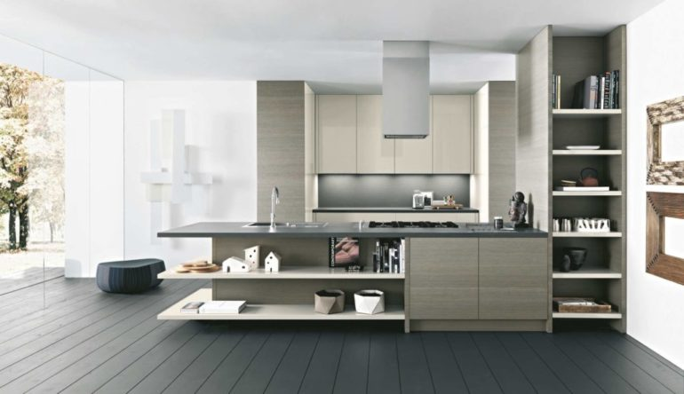 Кухня в духе современного минимализма