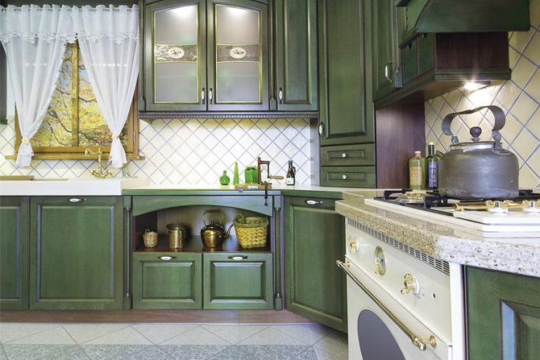 Кухни прованс для ценителей красоты