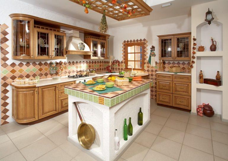 Полуостров или остров сделают кухню существенно удобнее и функциональнее