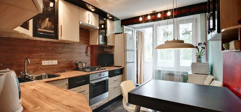 Дизайн кухни площадью 16 квадратных метров