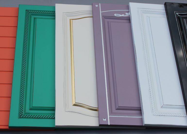 Методом покраски МДФ-панелей можно создать любой оригинальный дизайн