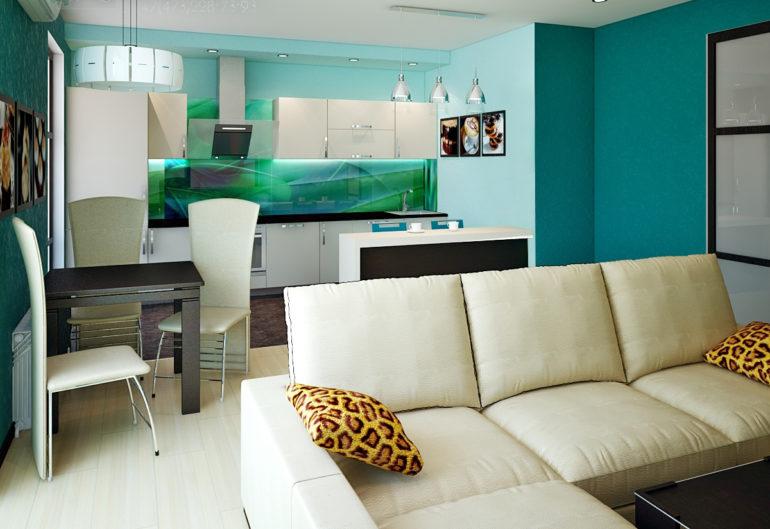 Барная стойка может выполнять несколько функций: служить декоративным элементом, разделять кухню на зоны или заменять обеденный стол